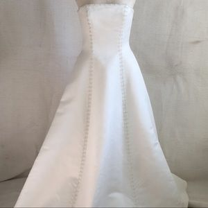UNALTERED! Debutante Wedding Gown 90s VTG Rena Koh